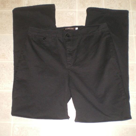 NYDJ Denim - NICE NYDJ Black Chino Jeans/Pants sz 14W